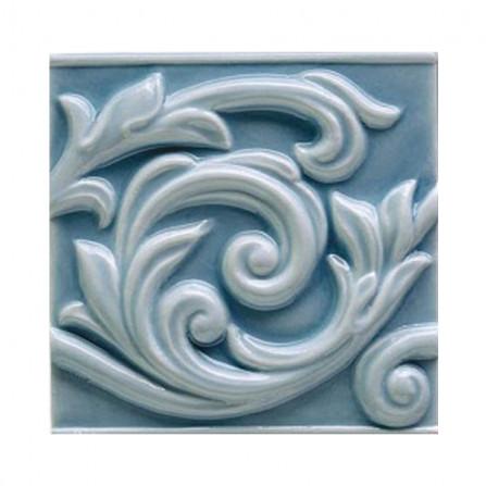 Ceramiche Grazia Essenze Voluta 13X13 Genziana