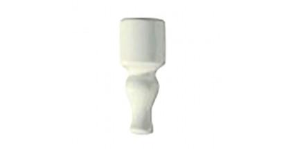 Ceramiche Grazia Vintage Angolo Finale 6,5X2 Ivory