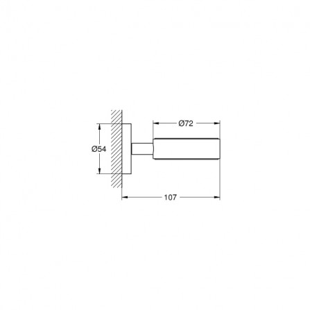 Grohe Essentials Держатель стакана, мыльницы, дозатора 40369 001