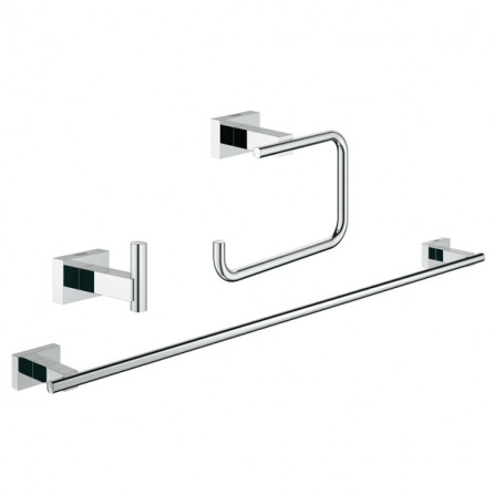 Grohe Essentials Cube Набор аксессуаров 3 в 1 Guest Bathroom 40777 001