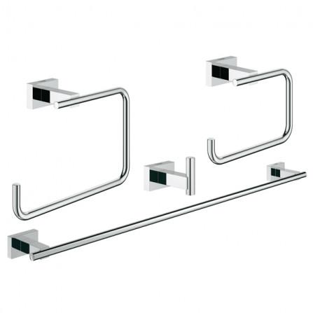 Grohe Essentials Cube Набор аксессуаров 4 в 1 Master Bathroom 40778 001