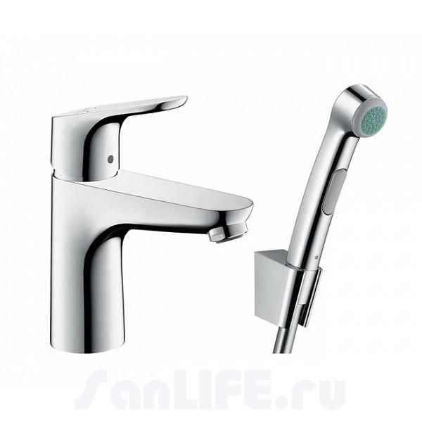 Hansgrohe Focus 90 Смеситель для раковины с гигиеническим душем 31927000