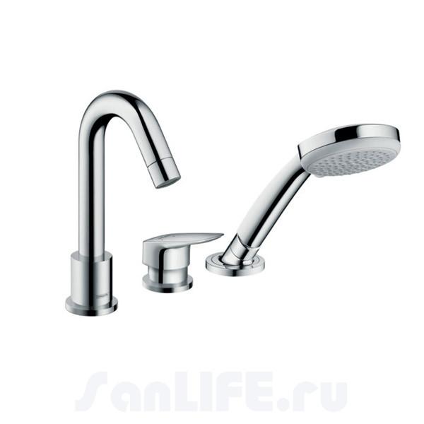 Hansgrohe Logis Смеситель для ванны на 3 отв 71310000