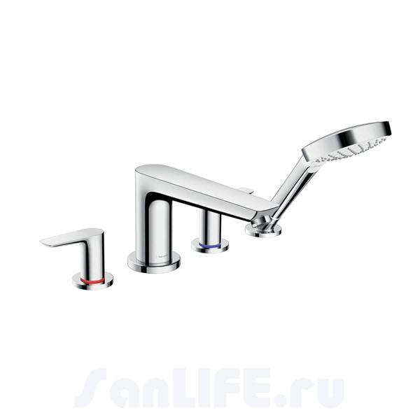 Hansgrohe Talis E Смеситель для ванны на 4 отв 71748000