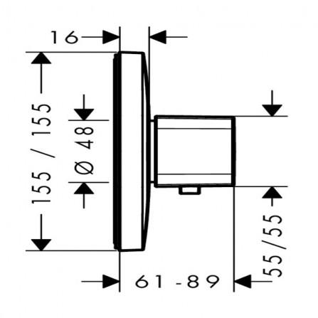 <b>Notice</b>: Undefined variable: alt_image in <b>/home/s/sanlifmd/sanlife.ru/public_html/catalog/view/theme/santehnika/template/product/product.tpl</b> on line <b>167</b>Hansgrohe Ecostat E Highflow Термостат центральный, СМ 15706000