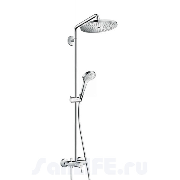Hansgrohe Croma Select 280 Air 1jet Showerpipe Душевая система для душа 26791000
