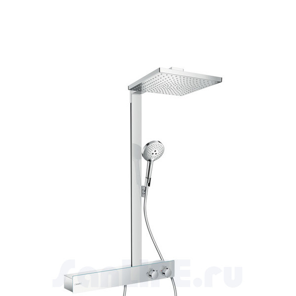 Hansgrohe Raindance E 300 1jet Showerpipe 600 ST Ecosmart Душевая система для душа 27364000