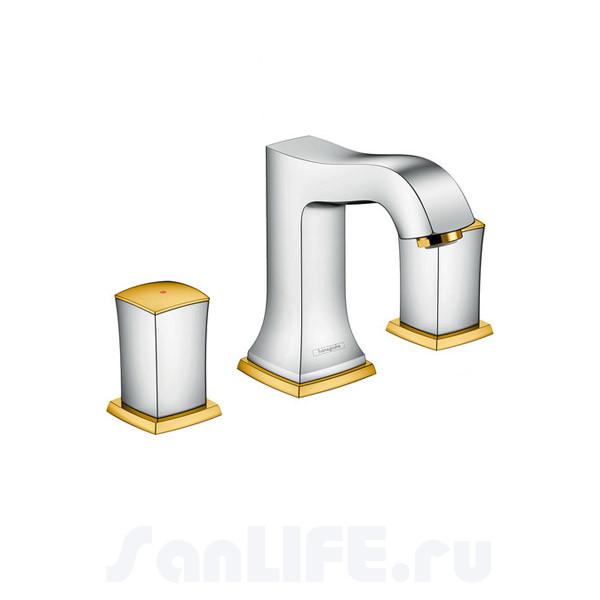 Hansgrohe Metropol Classic Смеситель для раковины на 3 отв 31304090