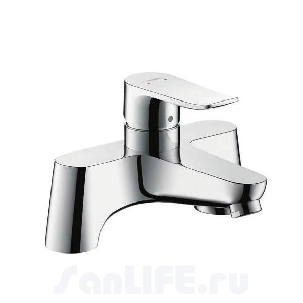 Hansgrohe Metris Смеситель для ванны на 2 отв 31423000