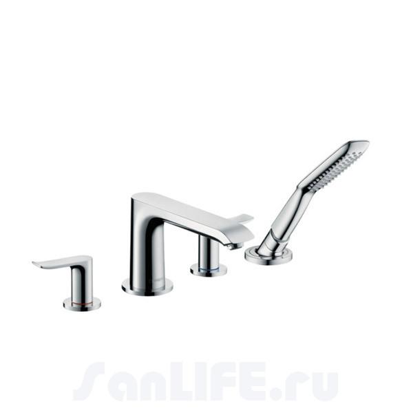 Hansgrohe Metris Смеситель для ванны на 4 отв 31442000