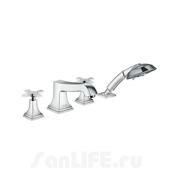 Hansgrohe Metropol Classic Смеситель для ванны на 4 отв 31449000