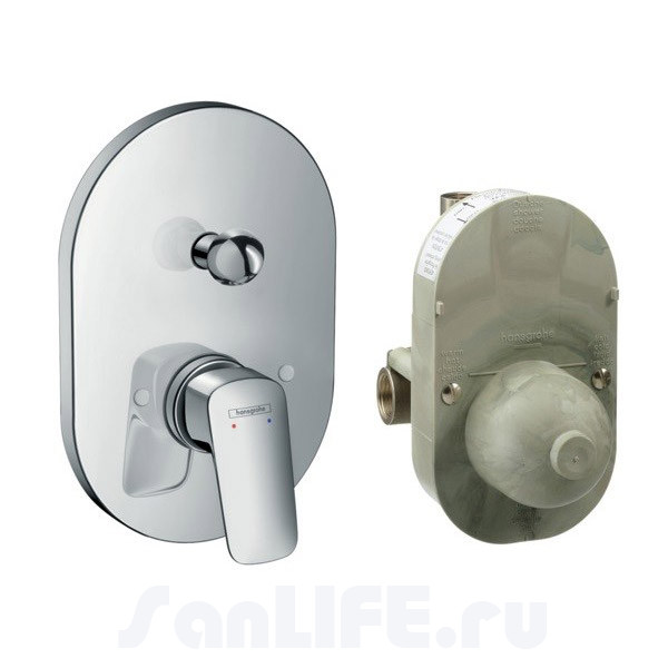 Hansgrohe Logis Смеситель для ванны, СМ 71409000
