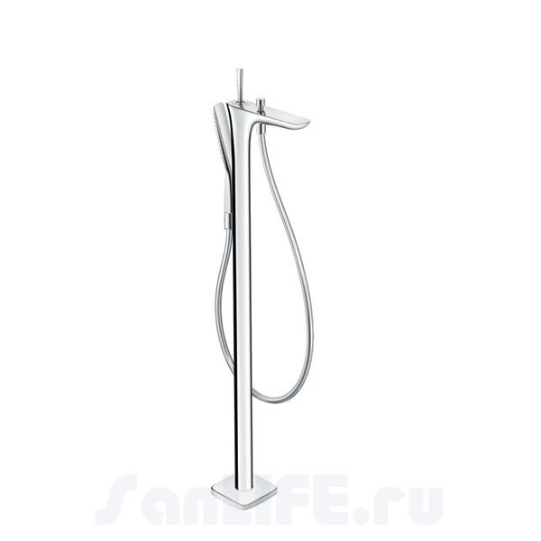 Hansgrohe PuraVida Смеситель для ванны напольный 15473000