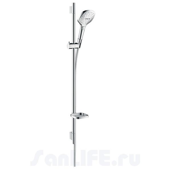 Hansgrohe Raindance Select E 120 3jet/Unica'S Puro 90 Душевой гарнитур 26621000