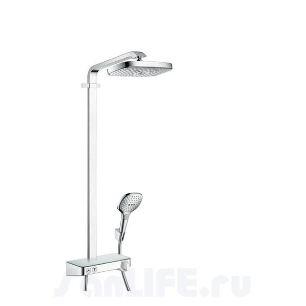 Hansgrohe Raindance Select E 300 2jet ST Showerpipe EcoSmart Душевая система для душа 27283000