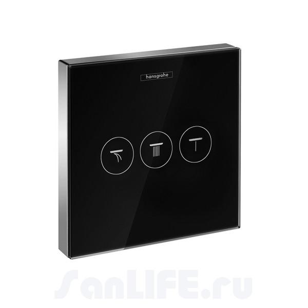 Hansgrohe ShowerSelect Запорный вентиль, панель, СМ 15736600