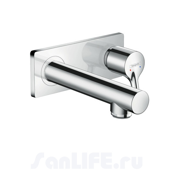 Hansgrohe Talis S Смеситель для раковины на 2 отв, излив 165 мм 72110000