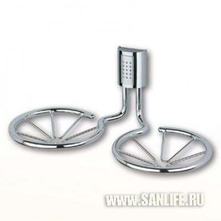 Haceka Balance Мыльница металлическая двойная BL06