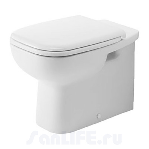 Duravit D-Code Унитаз приставной 211509 00 002