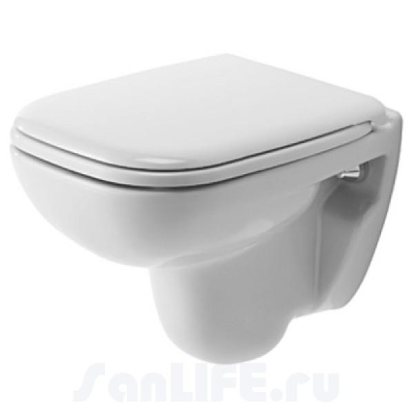 Duravit D-Code Унитаз подвесной compact 221109 00 002