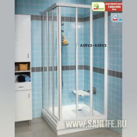 Ravak Supernova ASRV3-75 белый+Пеаpл 15V3010211