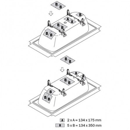Kaldewei Шумоизоляционный комплект 687675590000