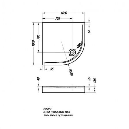Kolpa-San Eisa 100 Панель