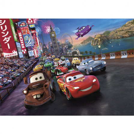 Komar Фотообои Cars Race 254х184