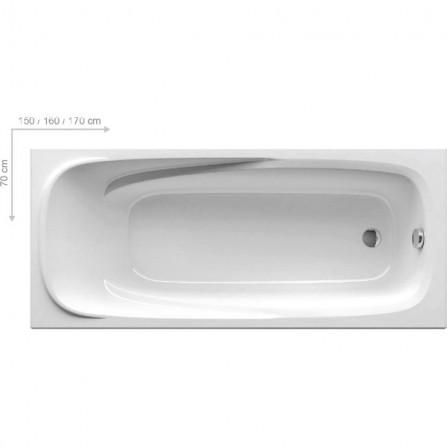 Ravak Vanda II Ванна 160х70 CP11000000