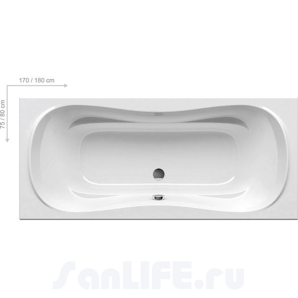 Ravak Campanula II Ванна 180х80 CB21000000