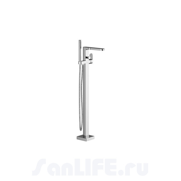 Ravak Chrome Смеситель для ванны напольный CR 080.00