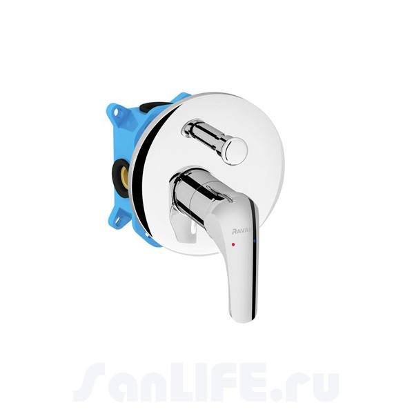 Ravak Rosa Смеситель для ванны, панель, СМ RS 065.01