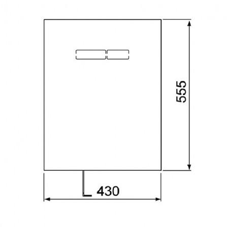 TECElux Верхняя панель 9 650 002