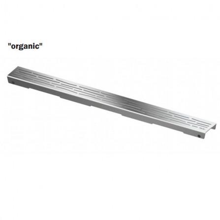 Tece drainline 100 Декоративная решетка Organic 601061