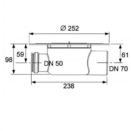 TECEdrainpoint Сифон 3603500
