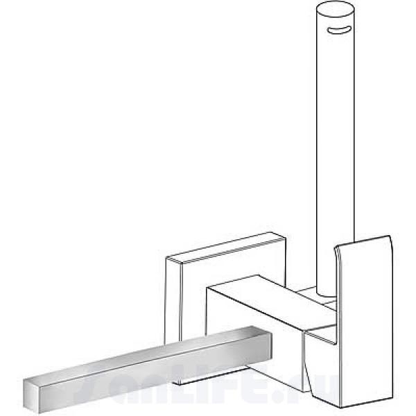 Tres Cuadro Полотенцедержатель для смесителя 03412402