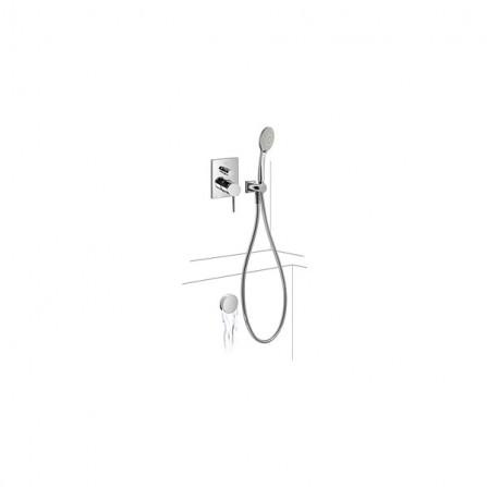 Tres Monoterm Душевой комплект, СМ Смеситель, 2 потребителя, ручной душ, сточный комплект 06218013