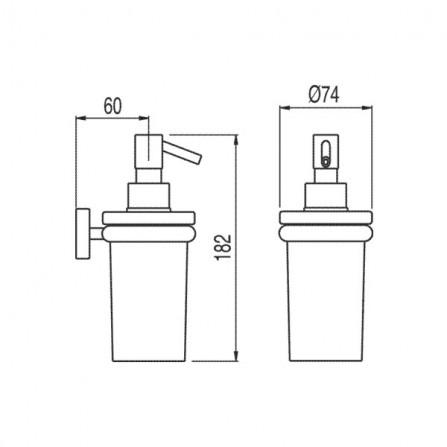 Tres Дозатор жидкого мыла 16163618