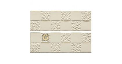 Versace Gold Decori Acqua/Dama Decorato Crema/Oro Микс из 8х декоров 25x75 см 68852