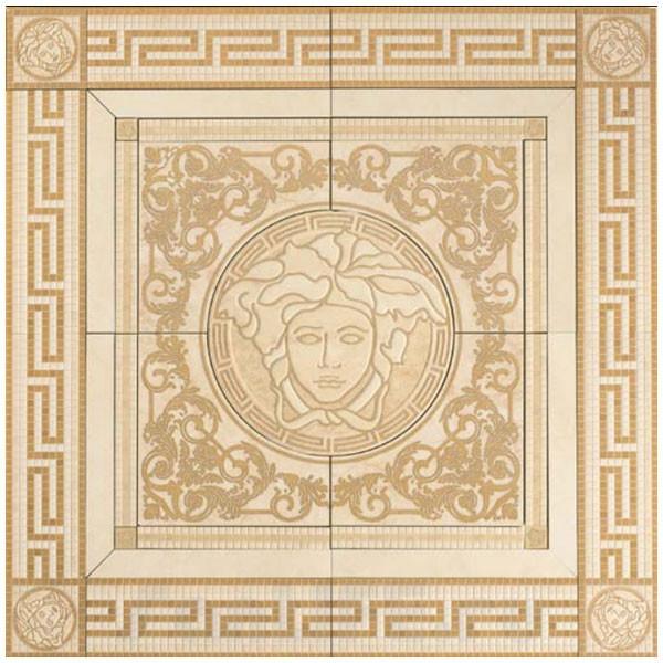 Versace Vanitas Rosone Beige Панно 120х120 см 36330