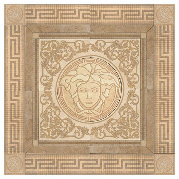 Versace Vanitas Rosone Noce Панно 120х120 см 36332