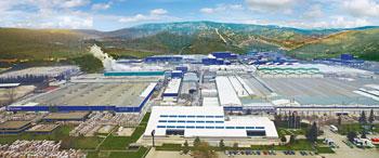 производственные корпуса турецкого завода Vitra